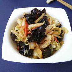 黑木耳烧白菜