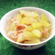 海米冬瓜粉丝汤