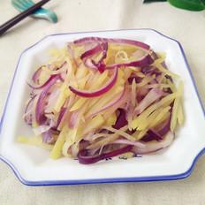 土豆丝炒洋葱