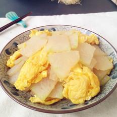鸡蛋炒冬瓜