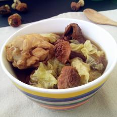 松茸煲鸡汤