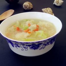 鱼鳔白菜汤