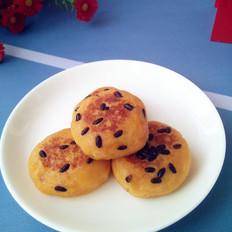 红薯山楂馅糯米饼