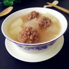 猪肉丸冬瓜汤