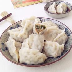 韭菜小白菜猪肉馅水饺