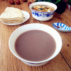 红枣红豆豆浆