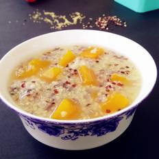 南瓜藜麦粥的做法