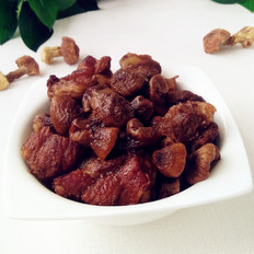 红烧排骨松茸蘑的做法