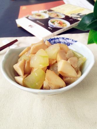 杏鲍菇烧冬瓜的做法