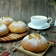 熔岩芝士面包