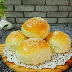 中种椰蓉蜜豆面包
