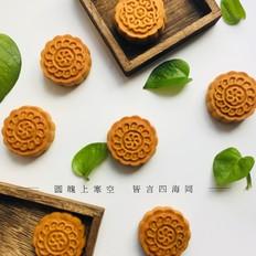枣泥核桃广式月饼