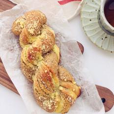 红茶奶酥面包