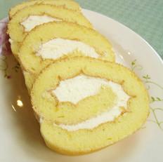自制奶油蛋糕卷