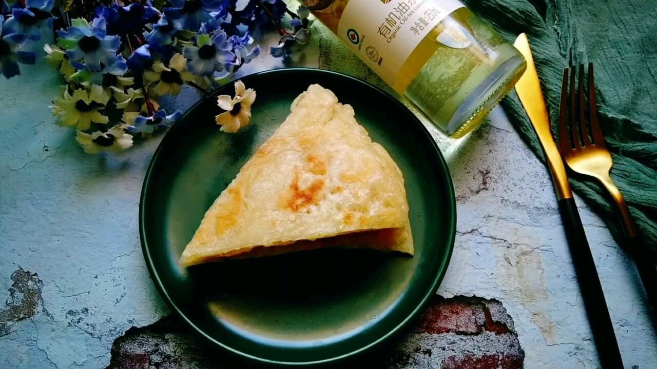 茶籽油面粉饼