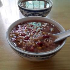 红绿豆西米粥