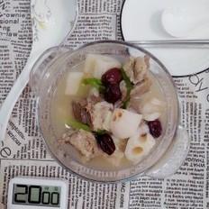 淮山莲藕排骨汤