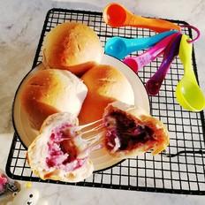 紫薯芋泥拉丝面包