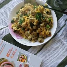扇贝肉炒鸡蛋