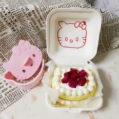 便当盒子蛋糕