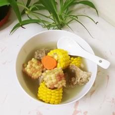 玉米大骨湯