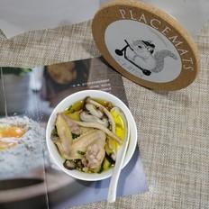 菌菇油鸡汤