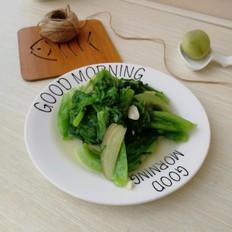 蒜泥生菜的做法