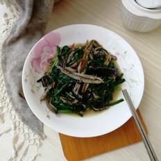 韭菜炒鳝丝