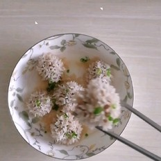 珍珠米丸子
