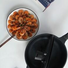 酱香茄汁风味虾的做法