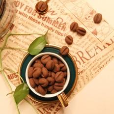 咖啡豆豆饼
