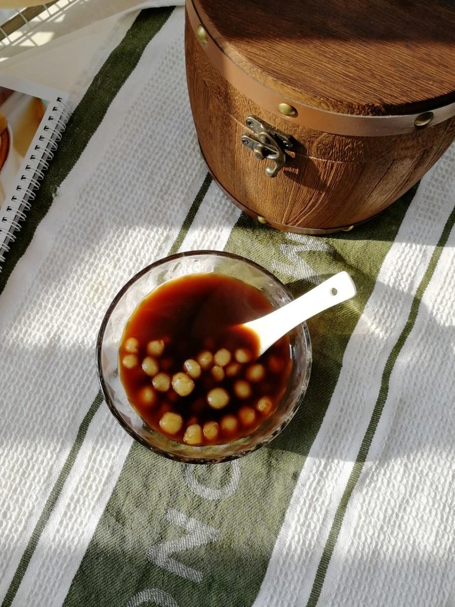 姜汁红糖小圆子