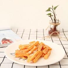 芝士粉烤红薯条