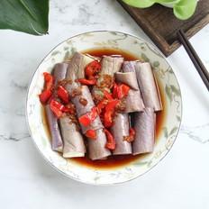 蘸汁蒸茄子,茄子的家常吃法