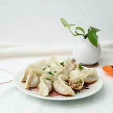 葱花煎饺,外焦里嫩,一口鲜香