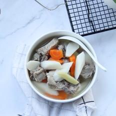 三伏天祛湿胡萝卜山药排骨汤
