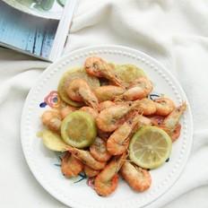 柠檬咖喱虾这么炒,淡淡的柠檬香,浓浓咖喱味