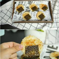 脆脆咸香海苔大米饼!