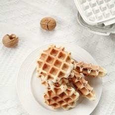 牛奶豆沙华夫饼-发酵版