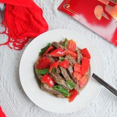 红红火火青红椒小炒牛肉