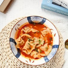 简单美味酸汤饺子