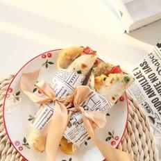 自制葱香手抓饼,层层起酥,酥脆可口