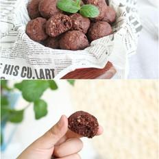 巧克力燕麦片能量球