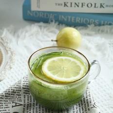 小清新柠檬黄瓜雪梨汁