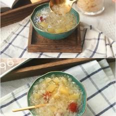 糯糯红枣苹果银耳羹的做法