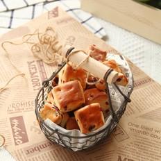 蔓越莓面包小方的做法