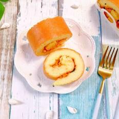 沙拉肉松蛋糕卷
