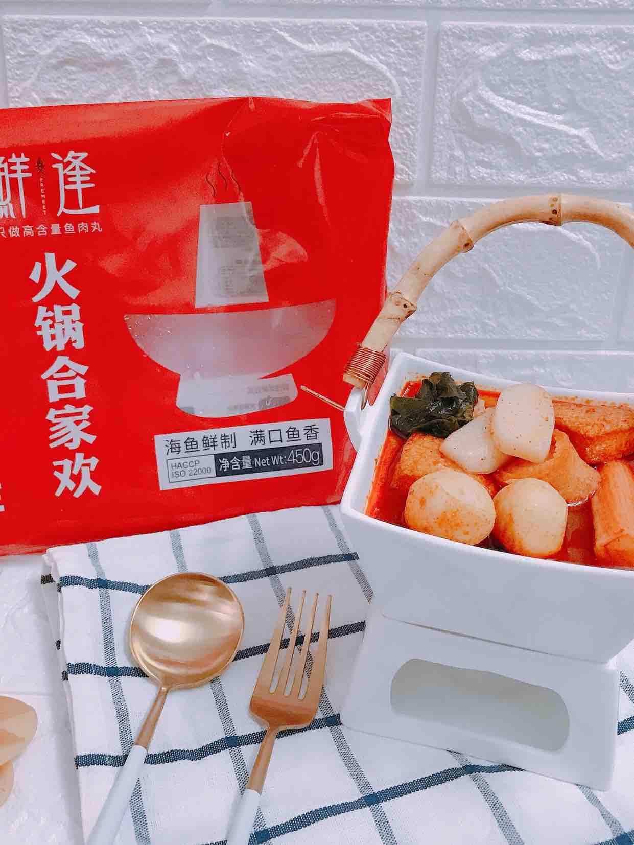 韩式年糕丸子暖锅