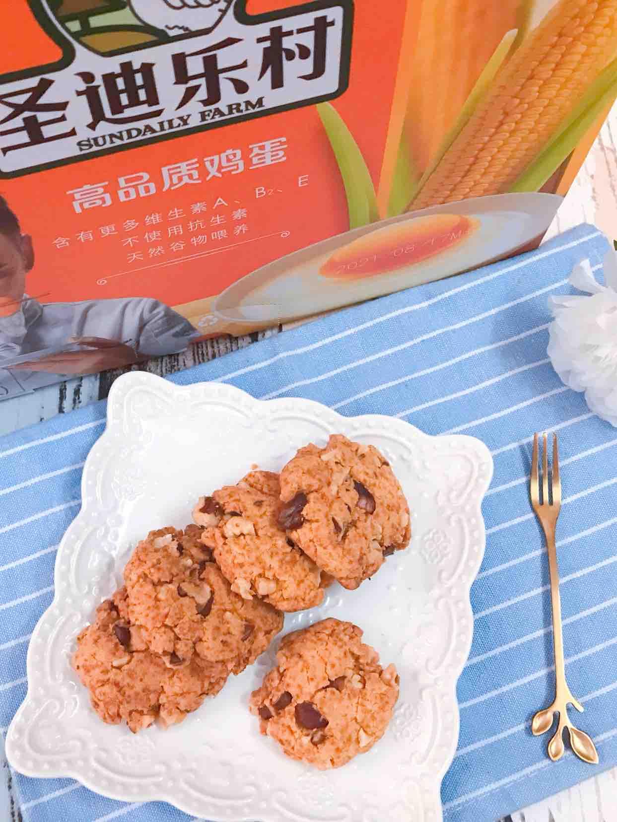 低油无糖玉米核桃酥的做法