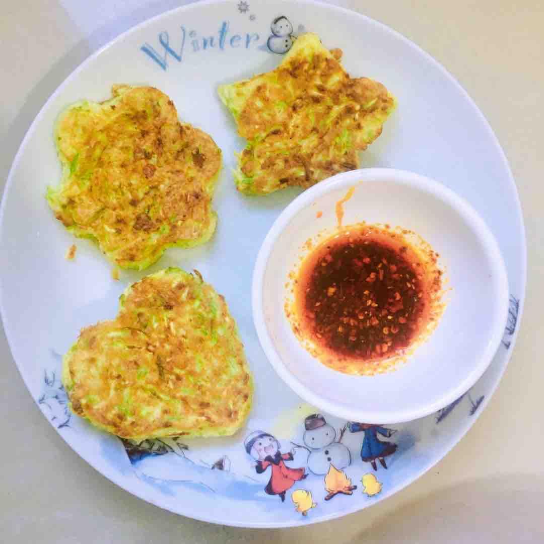 快手早餐!!西葫芦鸡蛋饼